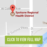 Spokane Regional Health District Map