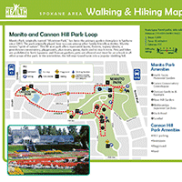Manito Park Map Walking and Hiking in Spokane County | SRHD
