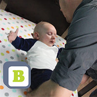 'B' is for on Baby's Back: