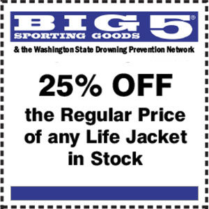 Life Jacket Coupon