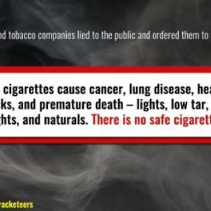 Big Tobacco Forced to Tell Truth about Tobacco