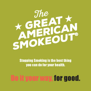 Great American Smokeout this Thursday