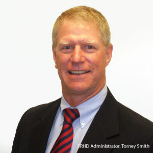 SRHD Administrator, Torney Smith, Announces His Upcoming Retirement